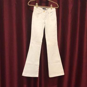 Dolce & Gabbana white wide leg jeans